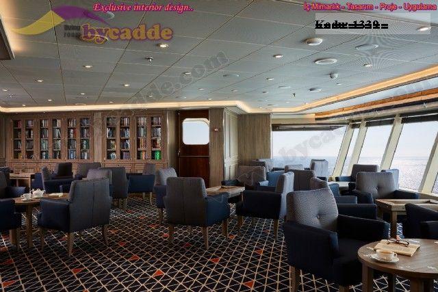 Discovery Berjer Tekli Koltuk Cafe Otel Gemi İç Ve Dış Mekan İçin