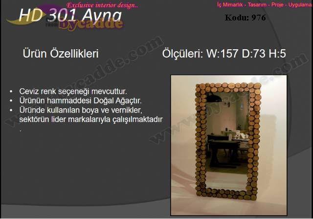 Hd 301 Ayna
