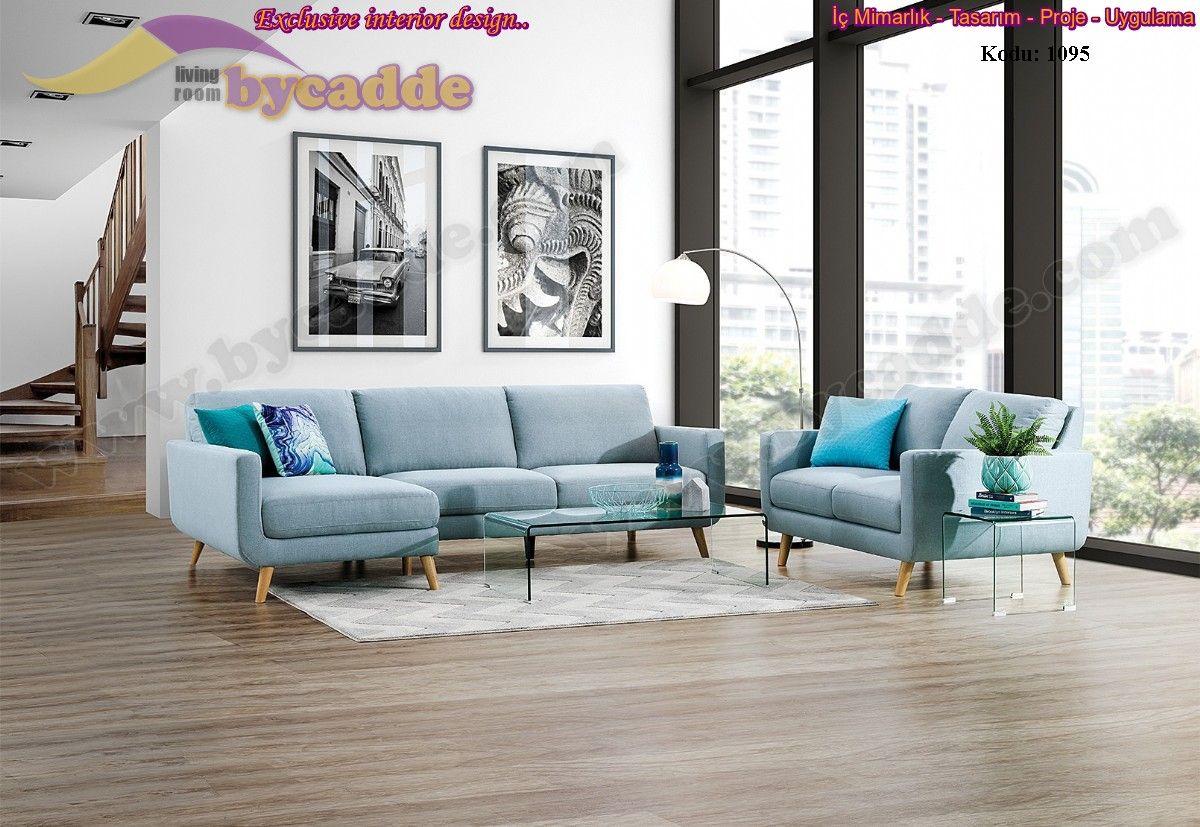 Kraft Salon Köşe Takımı Modern Dekoratif Tasarım
