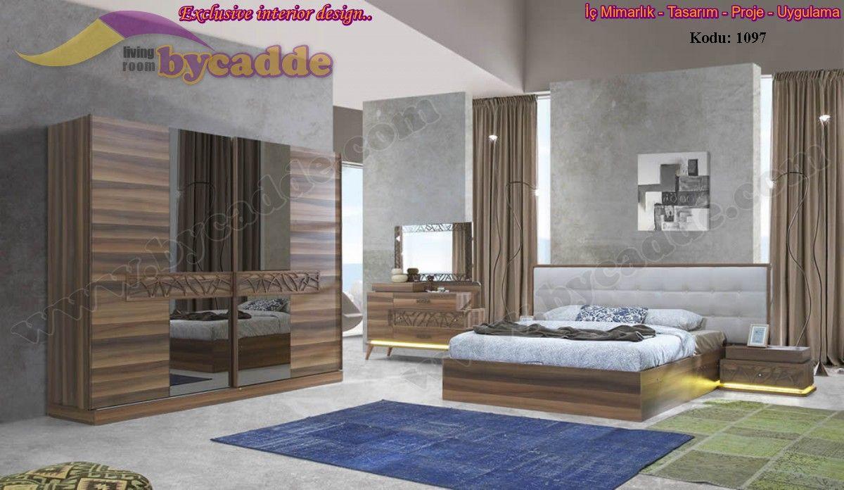 Milas Yatak Odası Takımı Kendinden Bazalı
