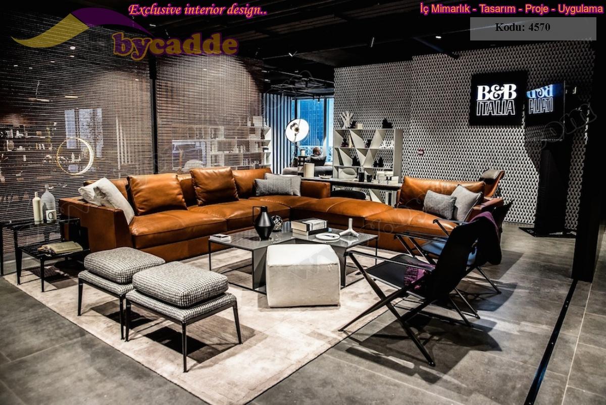Modern Luxury Deri Ofis Köşe Koltuk Takımı Modelleri
