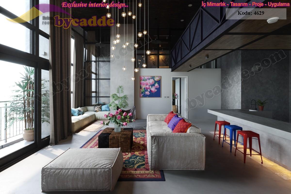 Modern Oturma Odası Salon Koltuk Tasarımları