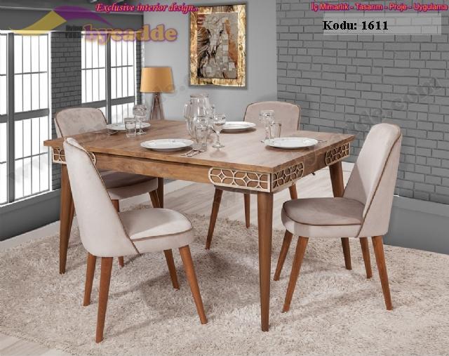 Nova Yemek Masası Ve 6 Sandalye