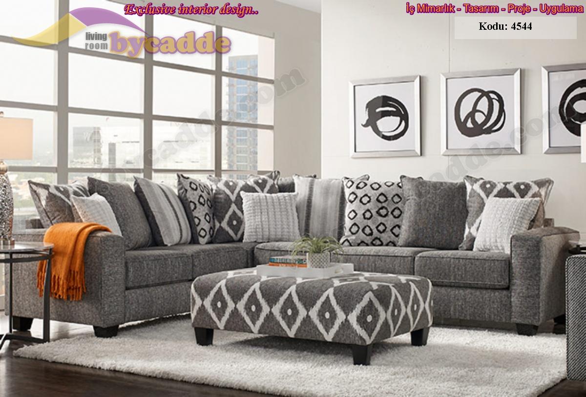 Oturma Odası Köşe Koltuk Takımı Modern Rahat Tasarımlar