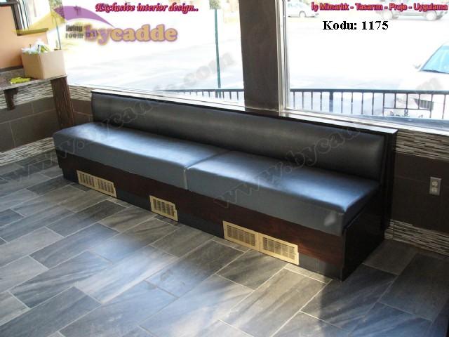 Restoran Cafe Deri Kabin Koltuk
