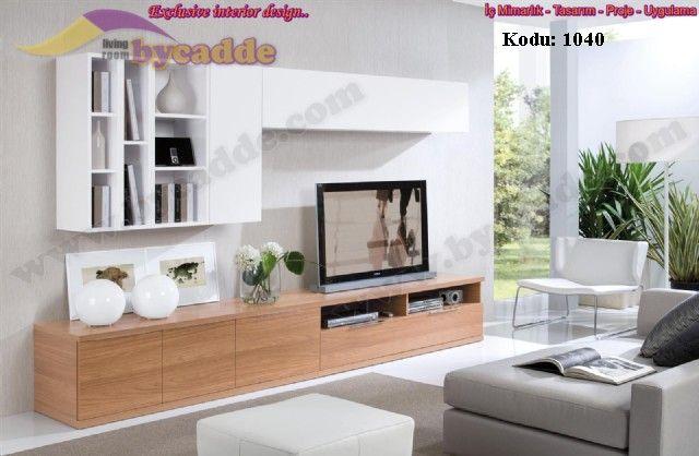 Samba Duvar Ünitesi Tv Sehpası Modern