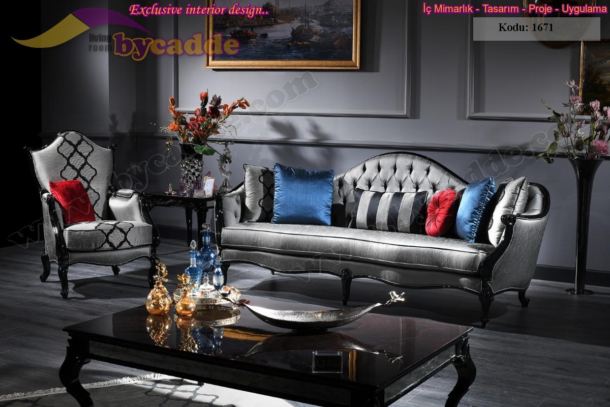 Armoni Art Deco Klasik Salon Takımı