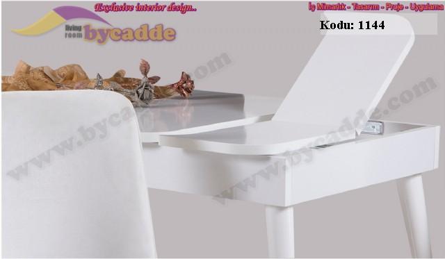 Açılır Yemek Masası Beyaz