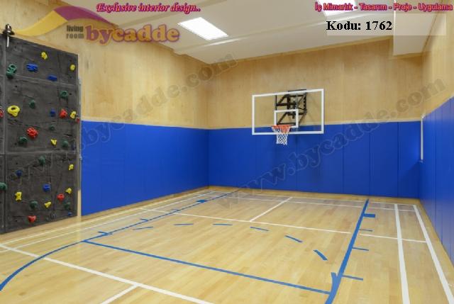 Çocuk Basketbol Salonu Duvar Kaplama