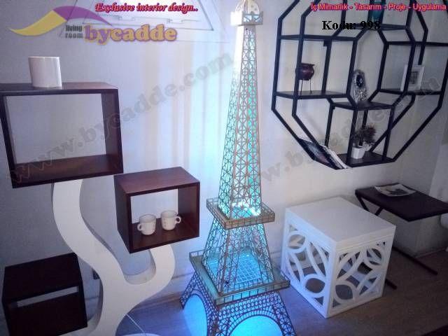 Eyfel Kulesi 8 Renk Dekoratif