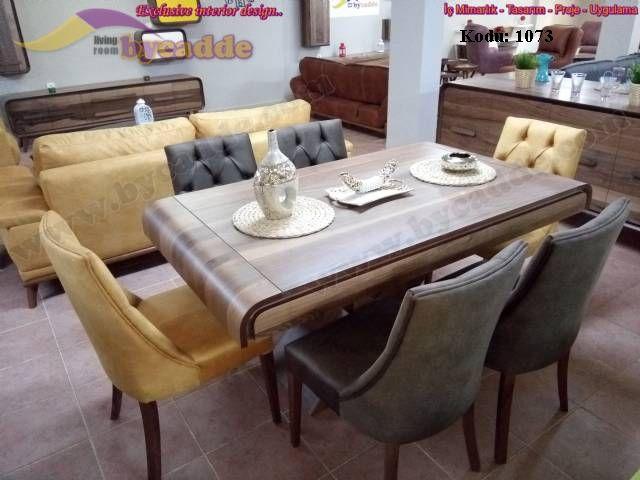 Kanuni Yemek Masası Ve Sandalyeler