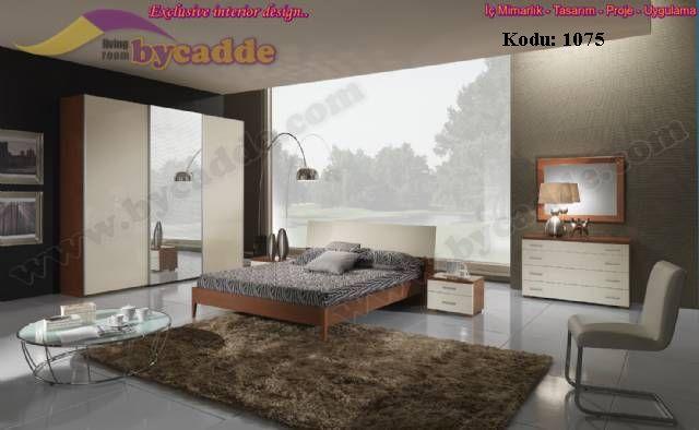 Kapaklı Modern Yatak Odası Takımı