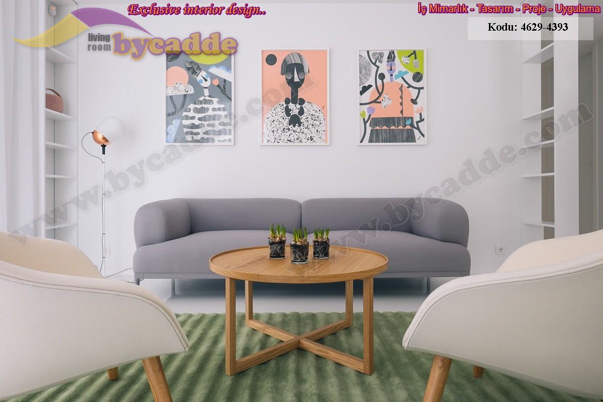 Modern Oturma Odası Koltuk Takımı