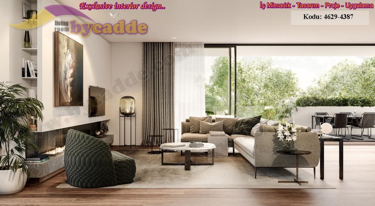 Modern Oturma Odası L Köşe Koltuk Takımı
