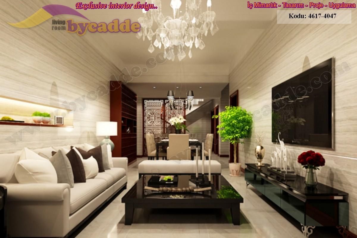 Modern Oturma Odası Üçlü Koltuk Bench Sehpa Ünite