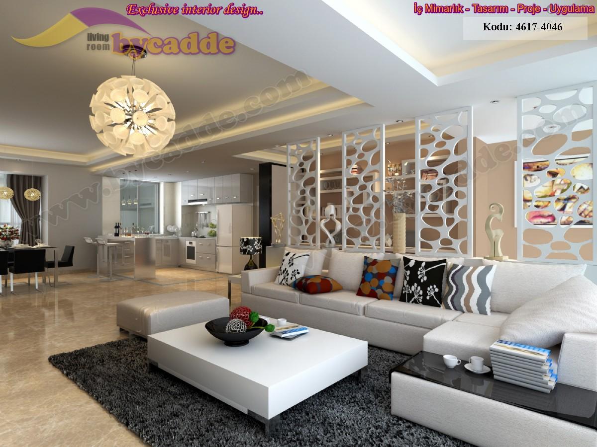 Modern Salon Tasarımı Köşe Takımı