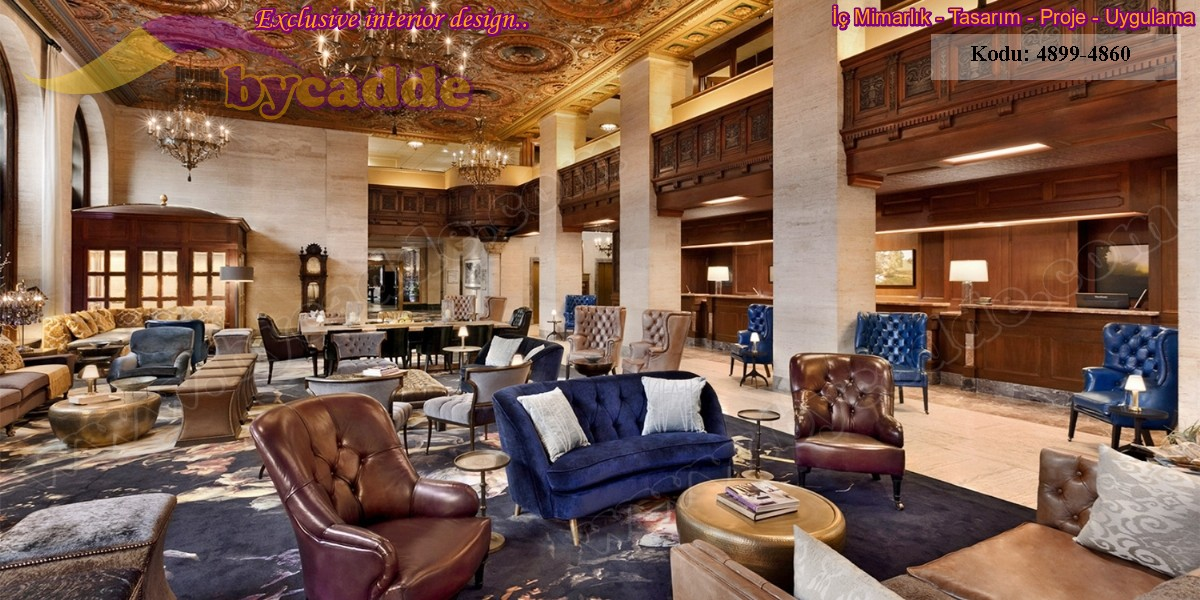 Otel Lobi Koltuk Dekorasyonu