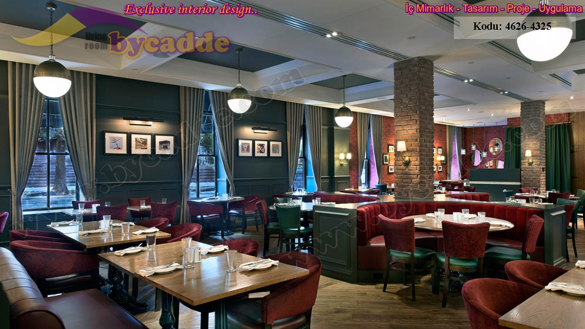 Otel Restoran Masa Sandalye Sedir Koltuklar Oval Ve Kare