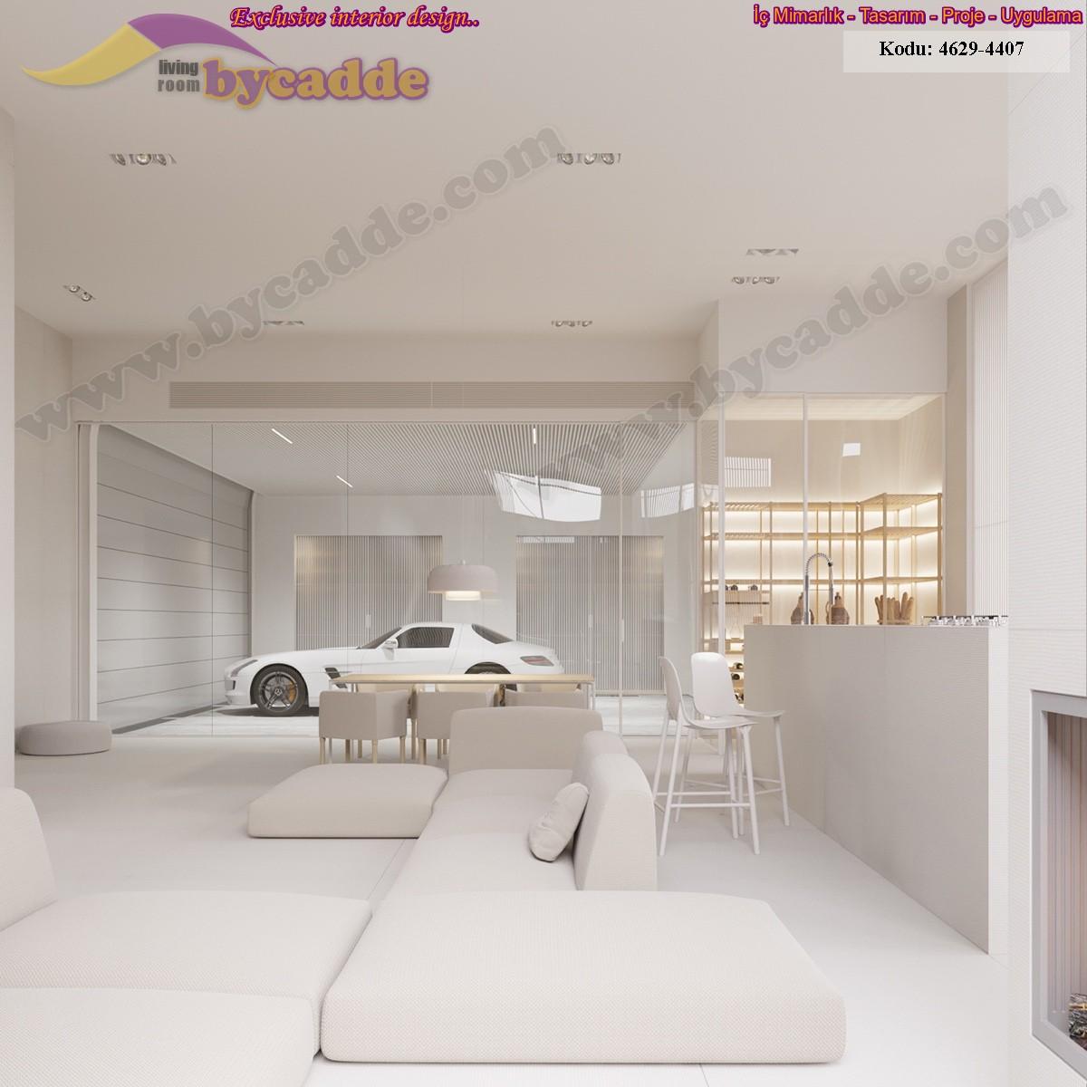 Oturma Odası Minder Koltuk Tasarımı