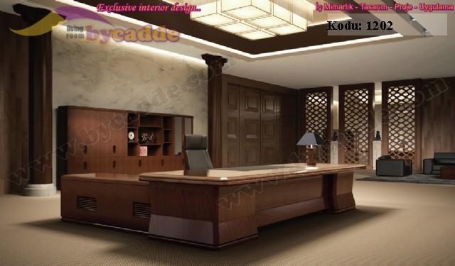 Özel Tasarım Makam Odası