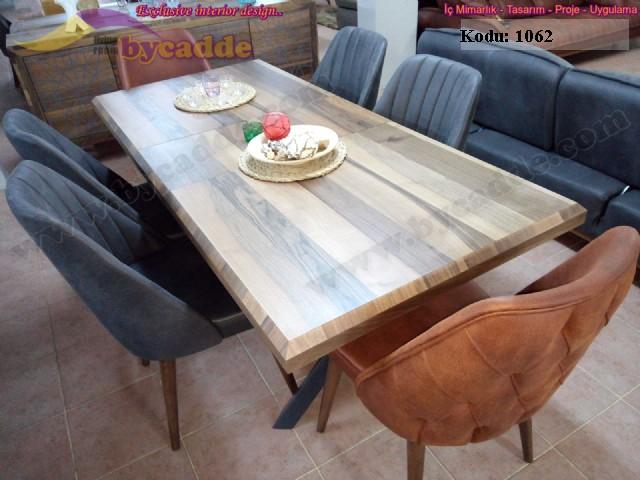 Retro Yemek Masası Ve Sandalye