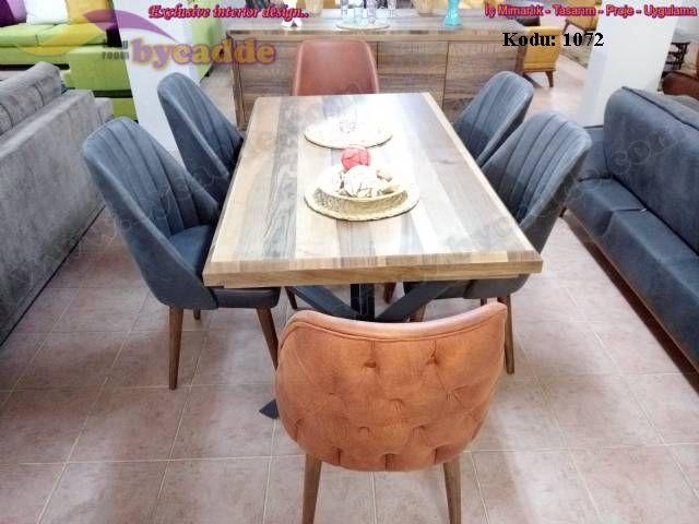 Retro Yemek Masası Ve Sandalyeler