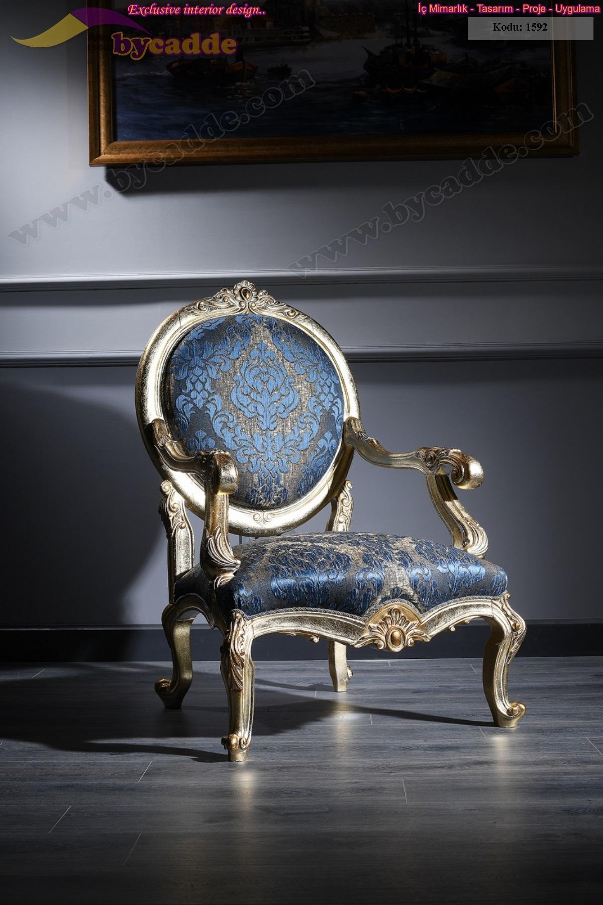 Royal Klasik Koltuk Takımı Tekli Koltuğu