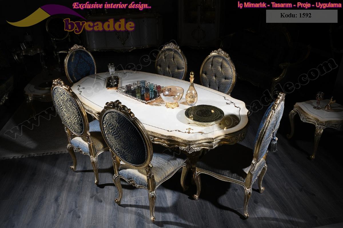 Royal Klasik Yemek Masası Ve Sandalyeler