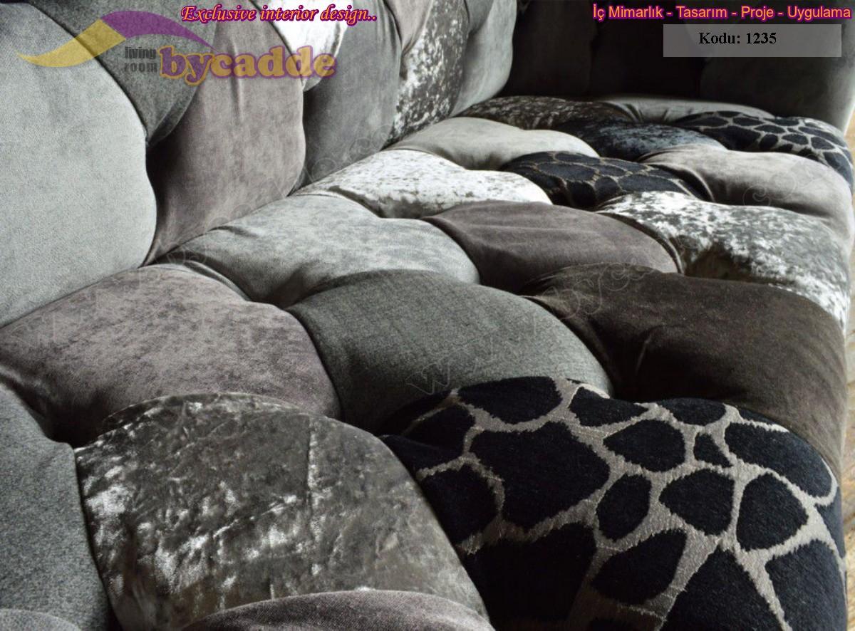 Zebra Patchwork Chester Koltuk