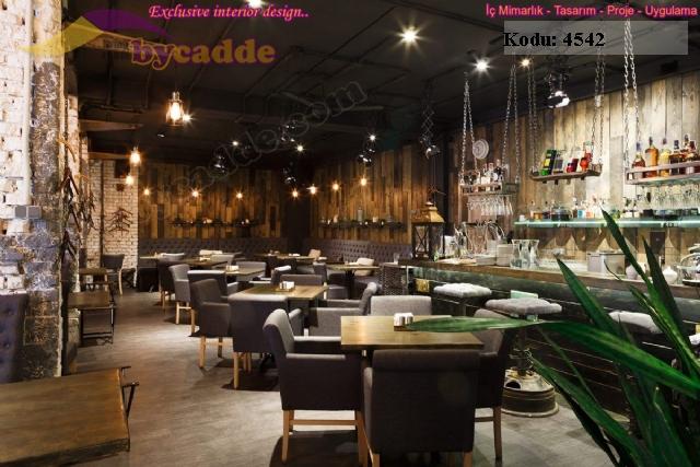 Chester Sedir Masa Sandalye Restoran Dekorasyonu