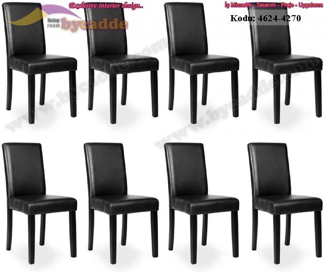 Lokanta Deri Sandalye Modeli Toptan Üretim