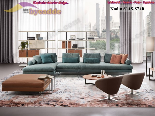 Modüler Modern Salon Köşe Takımı