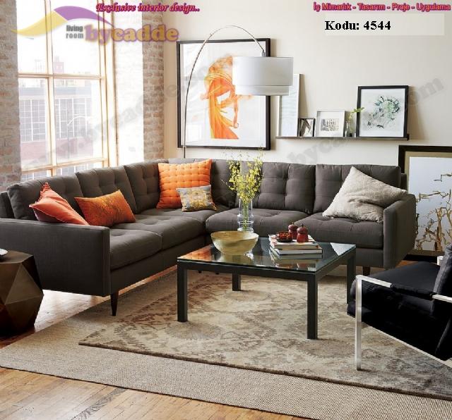 Oturma Odası Köşe Koltuk Takımı Modern