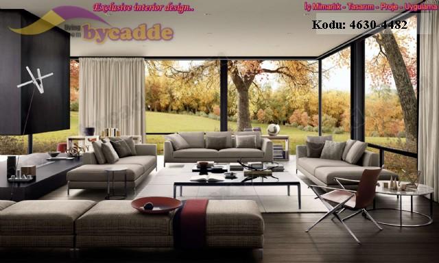 Özel Tasarım Modern Oturma Odası Koltuk