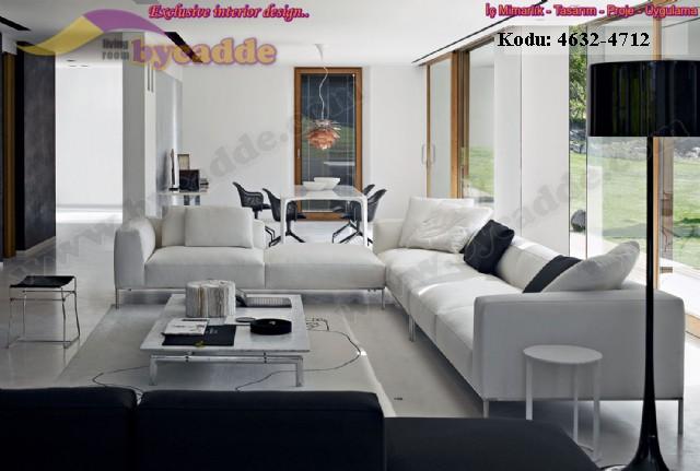 Özel Tasarım Modern Salon Oturma Odası Dekorasyonu Modüler Köşe Koltuk Takımı
