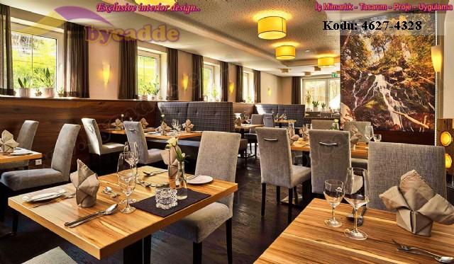 Restoran İçmekan Tasarımı Sedir Masa Koltuk Sandalye