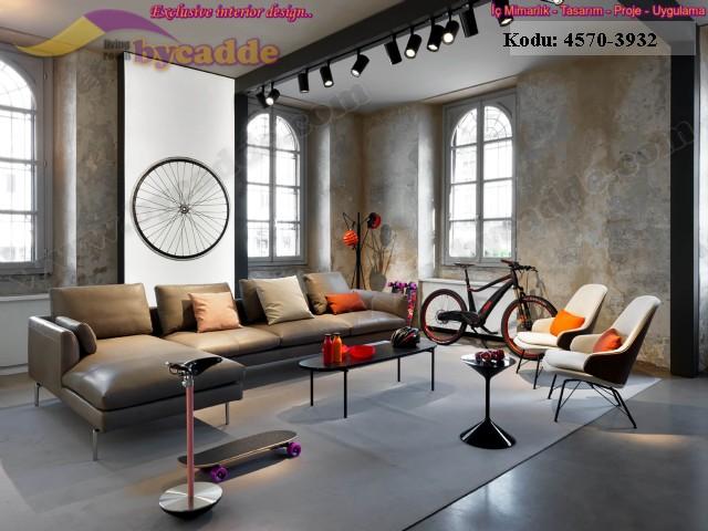Stüdyo Tasarımı Modern Deri Ofis Köşe Takımı