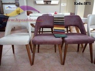 Astro Sandalye Nubuk Torna Ayaklı
