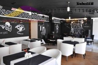 Luxury Cafe Round Berjer Koltuk