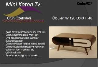 Mini Koton Tv Ünitesi