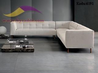 Modern Köşe Koltuk Takımı Modüler Tasarım Özel Üretim