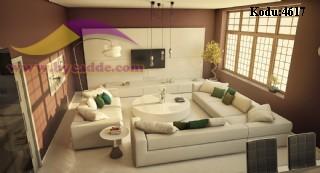 Modern Lüks Oturma Odası Salon Tasarımları