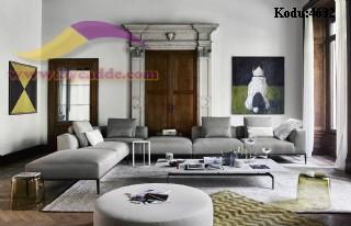 Modern Salon Köşe Takımı Dekorasyonu Konfor Kalite Zarafet Gösteriş