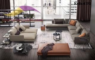 Modern Salon Takımı Köşe Koltuk Puf Yatak Şezlong