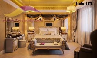 Queen Yatak Odası Takımı Klasik Ve Modern Karışım