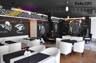 Restoran Ve Cafeler İçin Oval Sandalye Ve Masa Dizayn