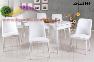 Retro Yemek Masası Ve 6 Sandalye