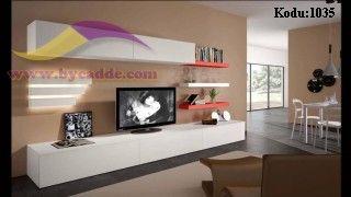 Sedef Lake Duvar Ünitesi Tv Sehpası