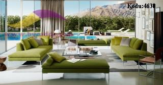 Yazlık Oturma Odası Koltuk Tasarımları